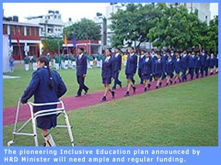 The pioneering Inclusive Education plan announced by HRD Minister will need ample and regular funding the Union Budget should address this.