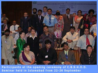 Picture of participants at CBSHOD Seminar