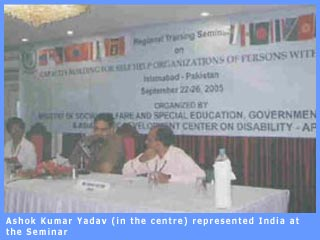 Picture of Ashok Kumar Yadav at  CBSHOD Seminar