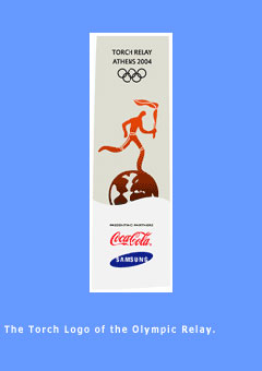 Picture of the Olympic Torch Relay logo.