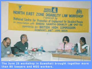 Picture of the North East Disability Law Unit workshop