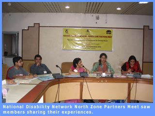 National Disability Network North Zone Partners Meet saw members sharing their experiences.