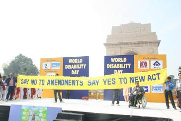 World Disability Day Celebrations at India Gate