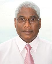Maniam Sinnasamy, Project Manager, U.N.D.P.