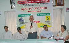 West Zone Consultation in Mumbai on April 24 and 25