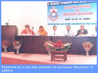 Participants at two-day seminar on Inclusive Education held in Lahore