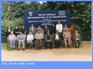 Picture of the think tank team