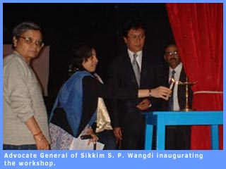 Picture of Advocate General of Sikkim, S. P. Wangdi