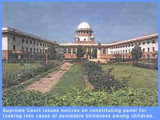 SC issues notices on finding cases of avoidable blindness