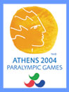 Logo of Paralympic Games organised in Athens 2004.