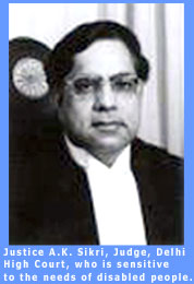 Picture of Justice A.K. Sikri, of the Delhi High Court