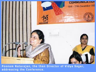 Picture of the then Director of Vidya Sagar
