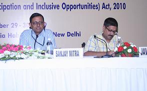 Sanjay Mitra from P.M.O. at the National Consultation